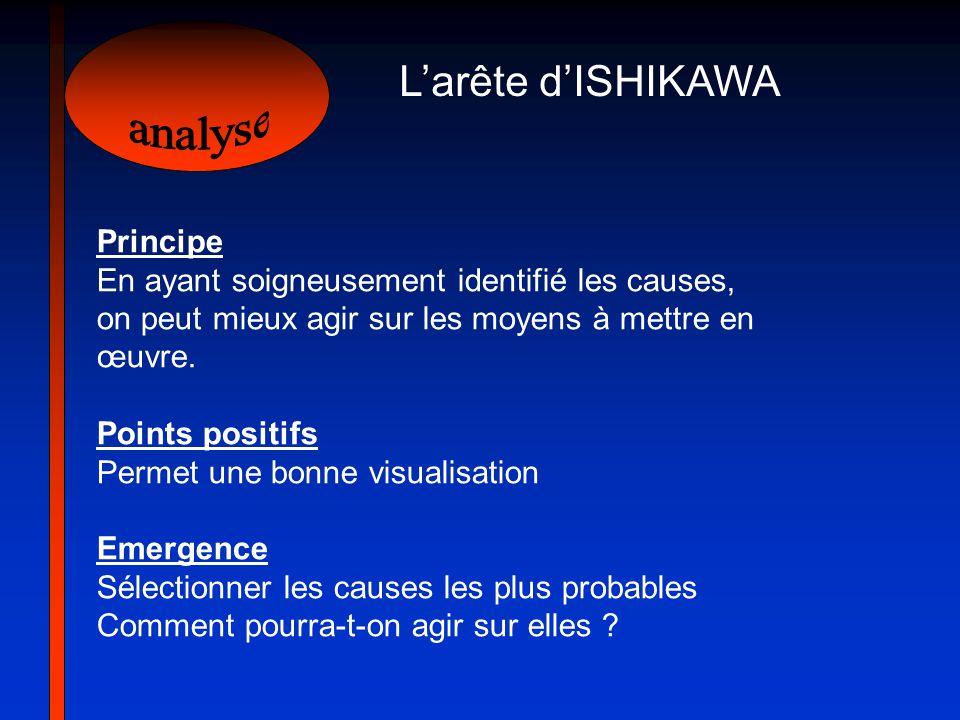 analyse L'arête d'ISHIKAWA Principe