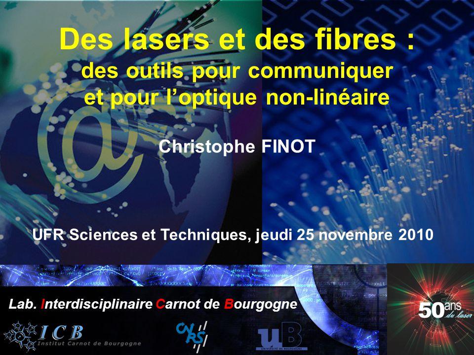 UFR Sciences et Techniques, jeudi 25 novembre 2010