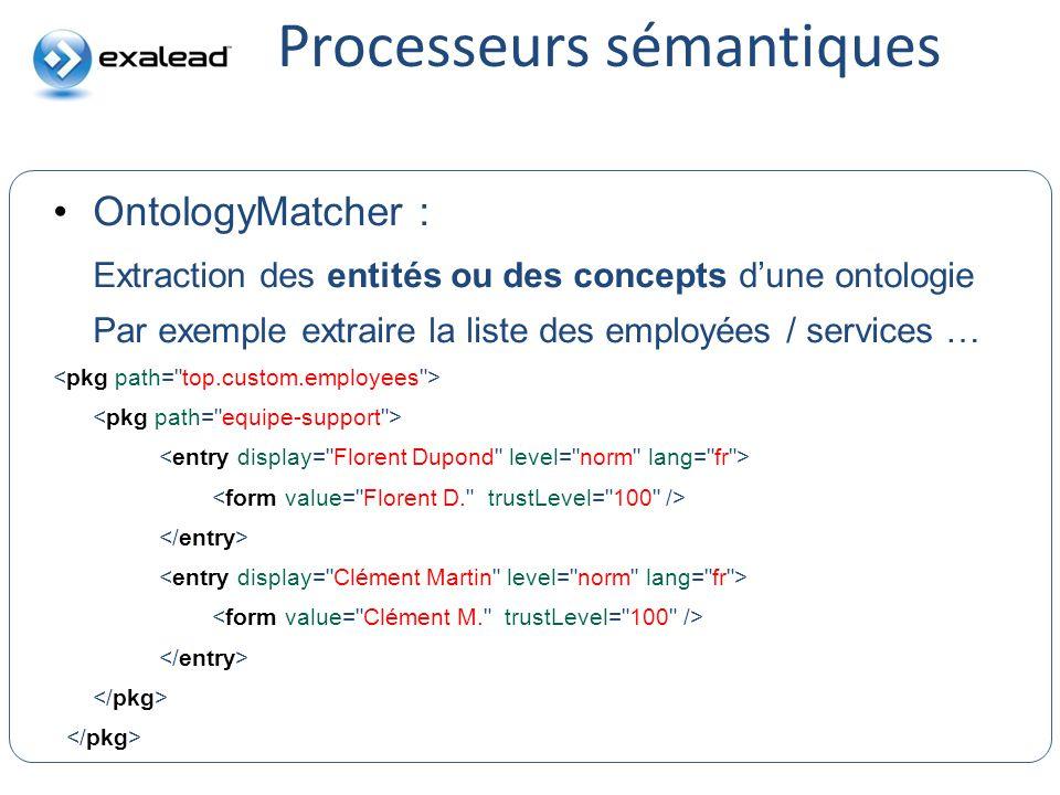 Processeurs sémantiques