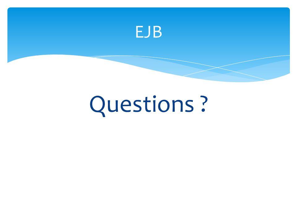 EJB Questions