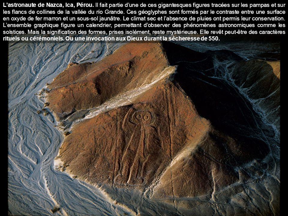 L'astronaute de Nazca, Ica, Pérou