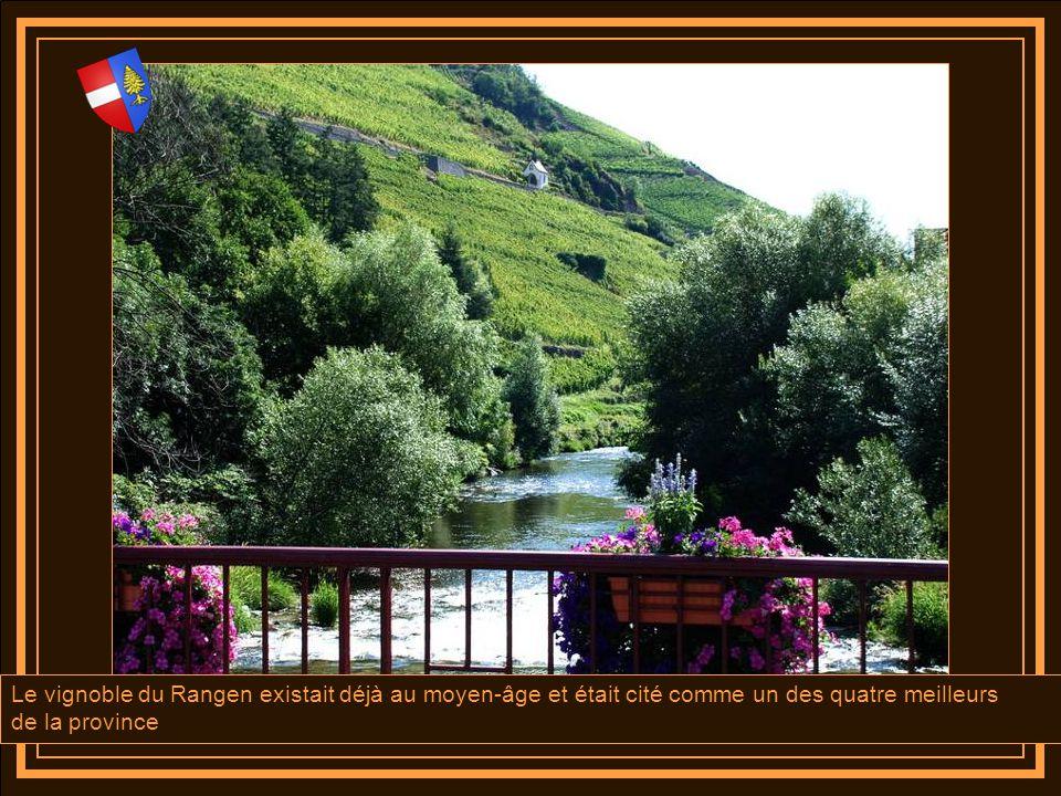 Le vignoble du Rangen existait déjà au moyen-âge et était cité comme un des quatre meilleurs
