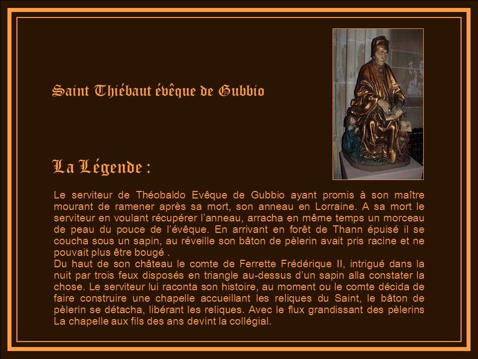 La Légende : Saint Thiébaut évêque de Gubbio