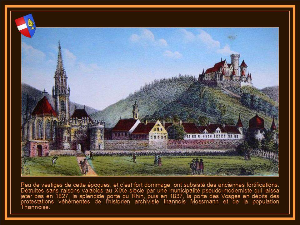 Peu de vestiges de cette époques, et c'est fort dommage, ont subsisté des anciennes fortifications.