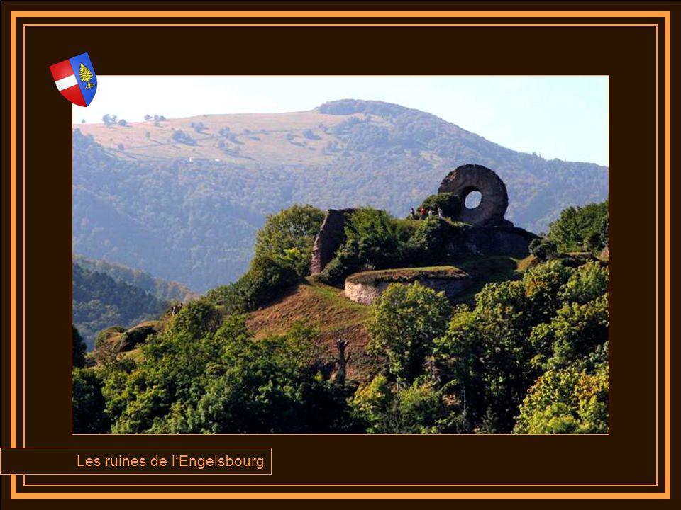Les ruines de l'Engelsbourg