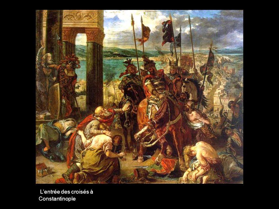 L'entrée des croisés à Constantinople