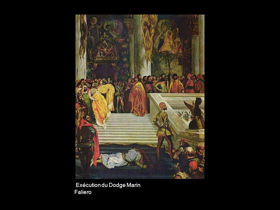 Exécution du Dodge Marin Faliero