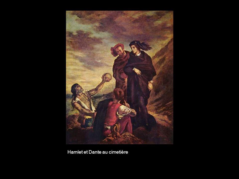 Hamlet et Dante au cimetière