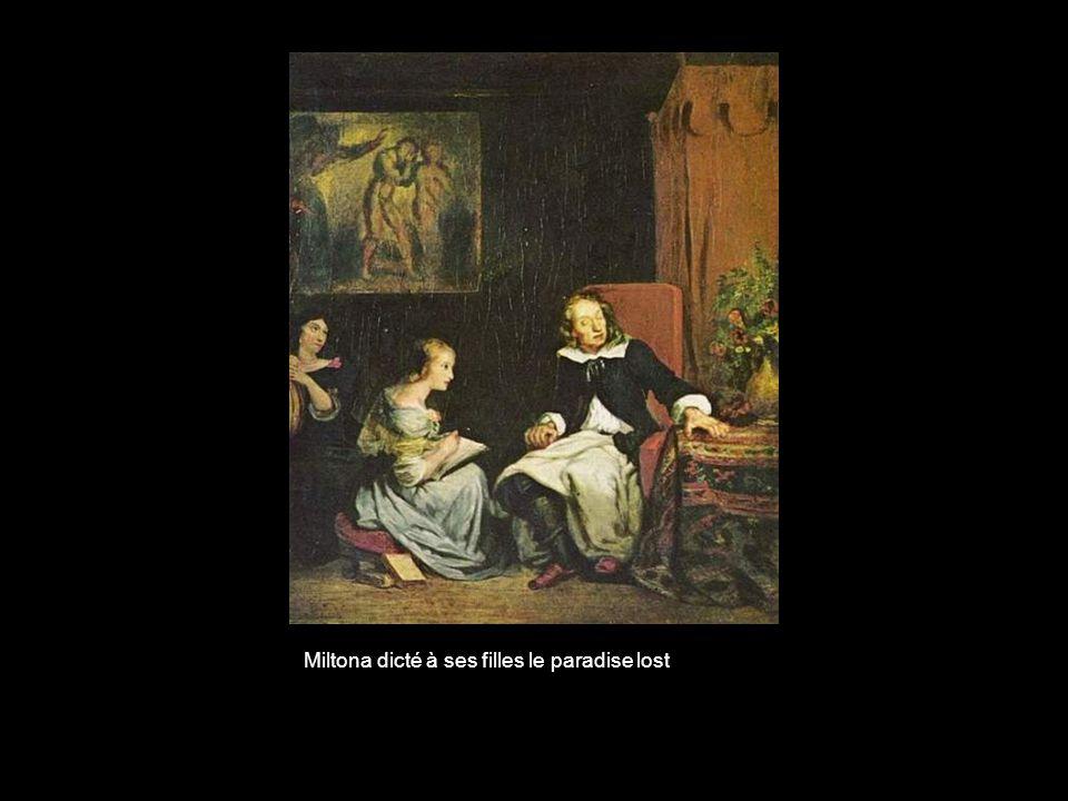 Miltona dicté à ses filles le paradise lost