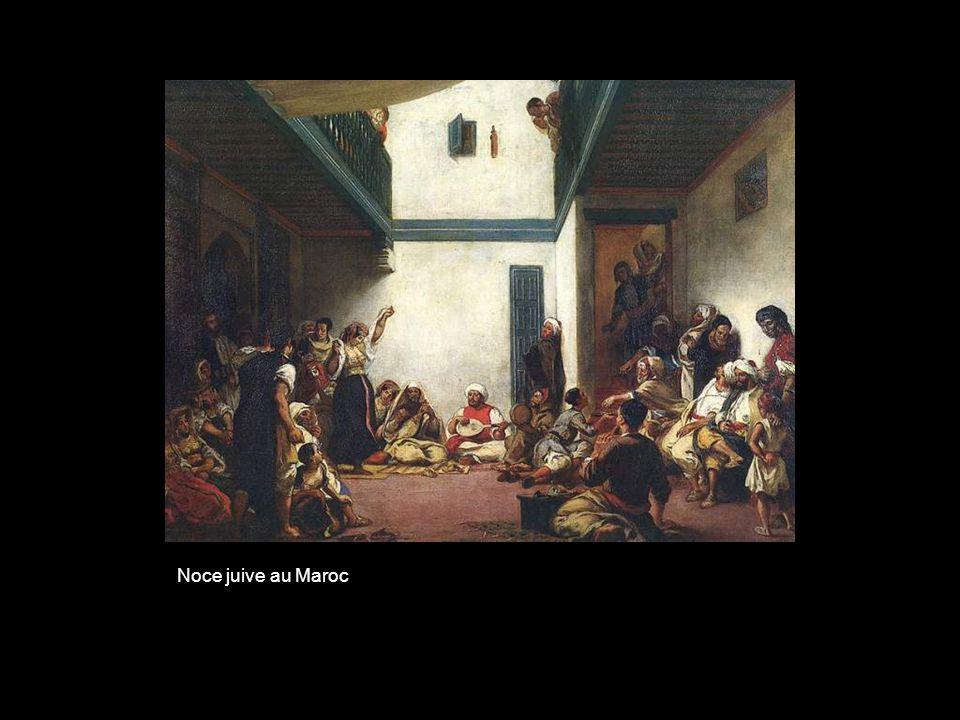 Noce juive au Maroc