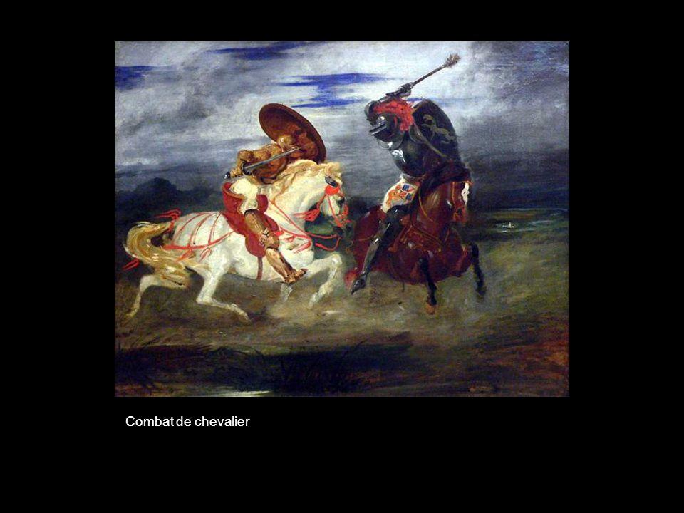 Combat de chevalier