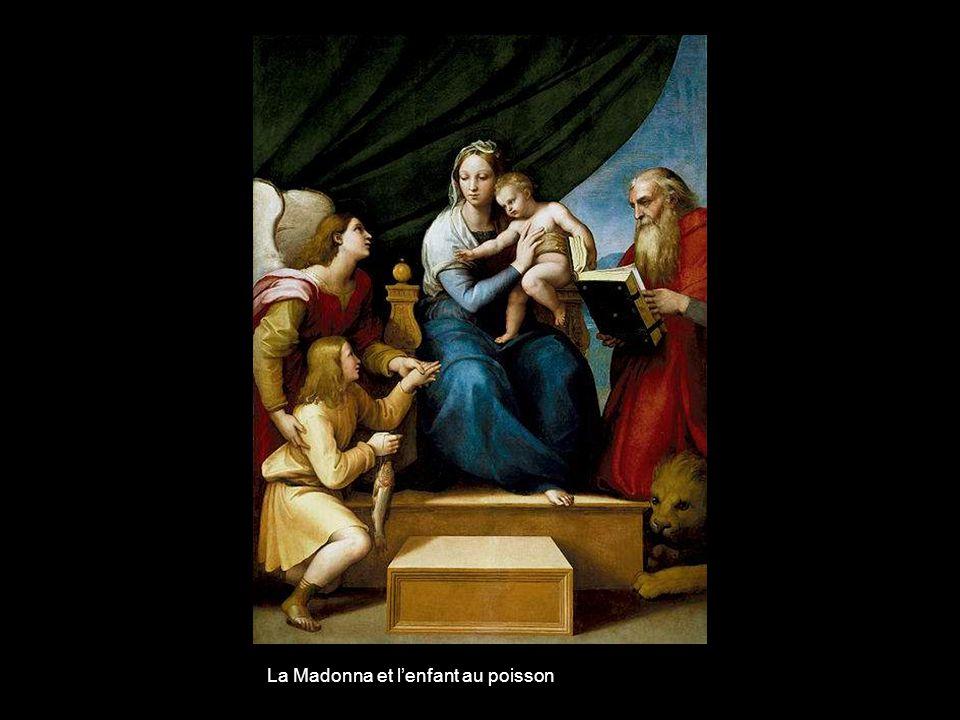 La Madonna et l'enfant au poisson