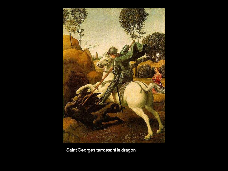 Saint Georges terrassant le dragon