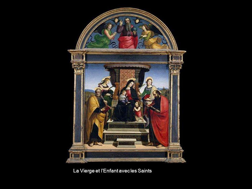 La Vierge et l'Enfant avec les Saints