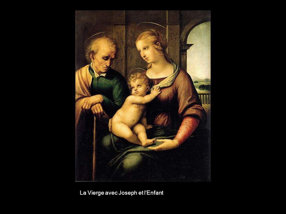 La Vierge avec Joseph et l'Enfant