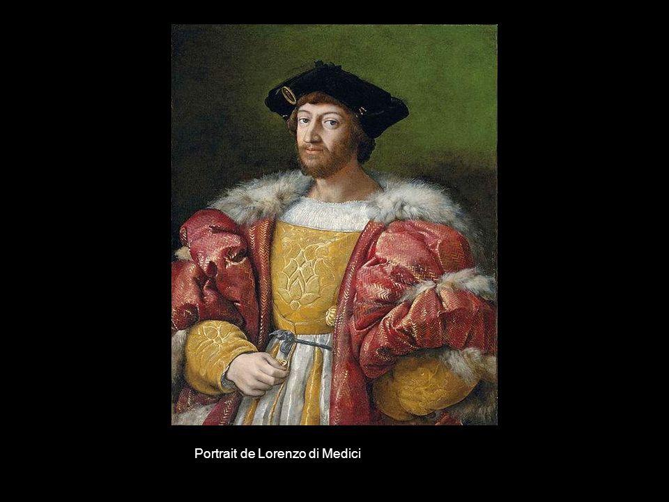 Portrait de Lorenzo di Medici