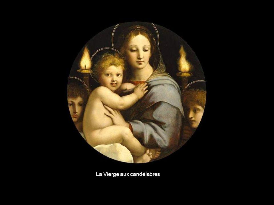 La Vierge aux candélabres