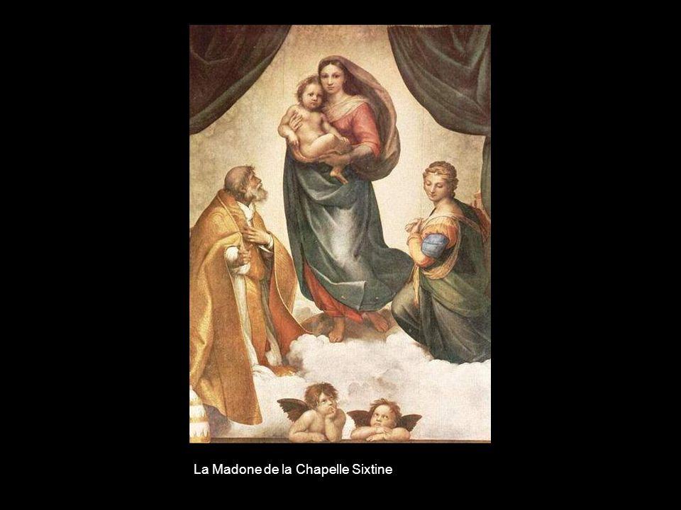 La Madone de la Chapelle Sixtine