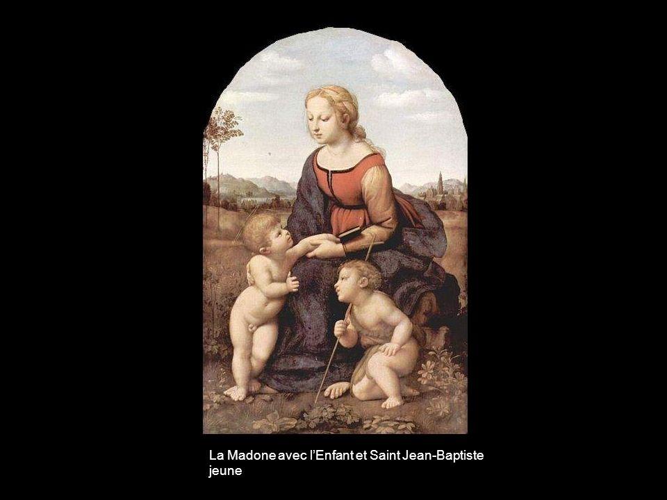 La Madone avec l'Enfant et Saint Jean-Baptiste jeune