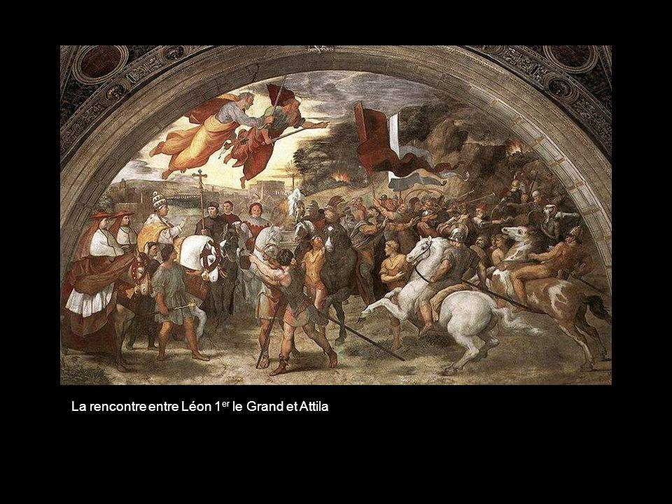 La rencontre entre Léon 1er le Grand et Attila