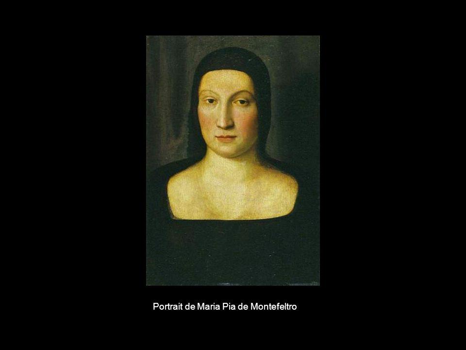 Portrait de Maria Pia de Montefeltro