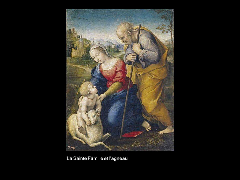 La Sainte Famille et l'agneau