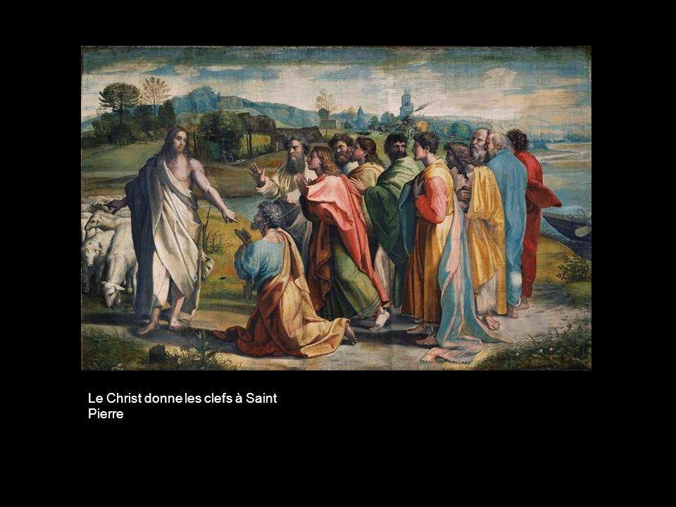 Le Christ donne les clefs à Saint Pierre