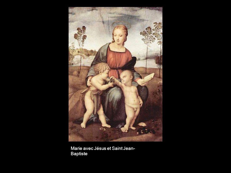 Marie avec Jésus et Saint Jean-Baptiste