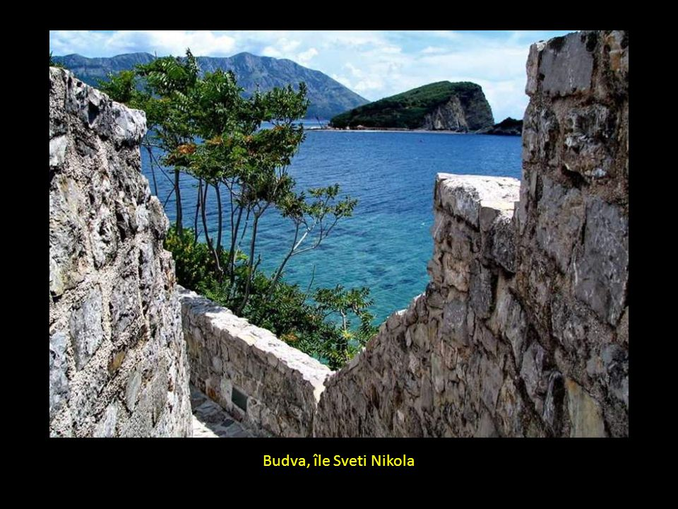Budva, île Sveti Nikola