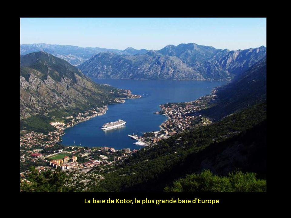 La baie de Kotor, la plus grande baie d Europe