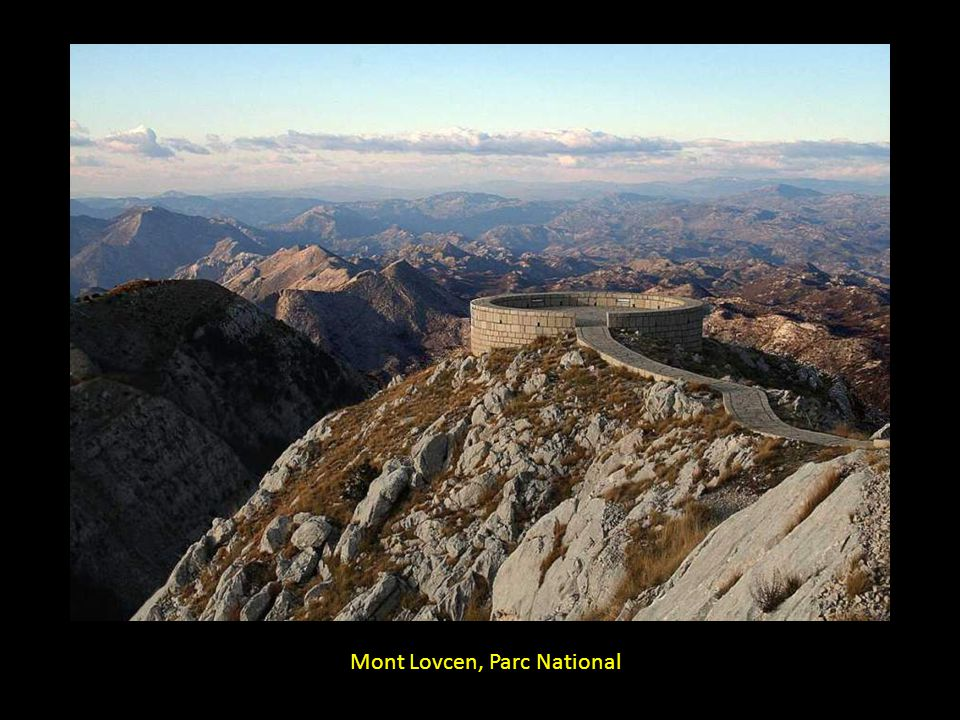 Mont Lovcen, Parc National