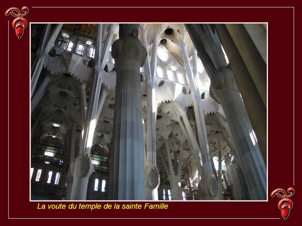 La voute du temple de la sainte Famille