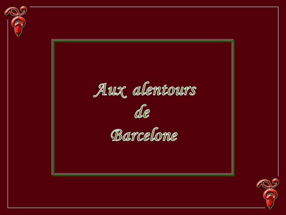 Aux alentours de Barcelone