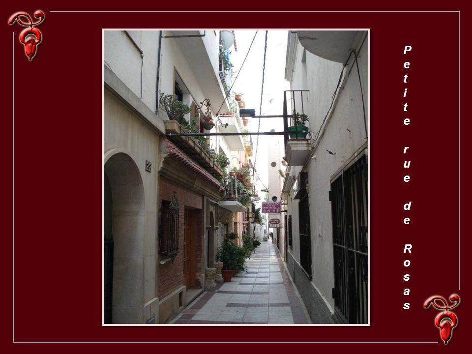 Petite rue de Rosas