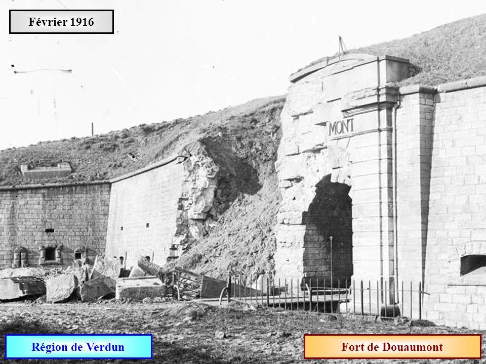 Février 1916 Région de Verdun Fort de Douaumont