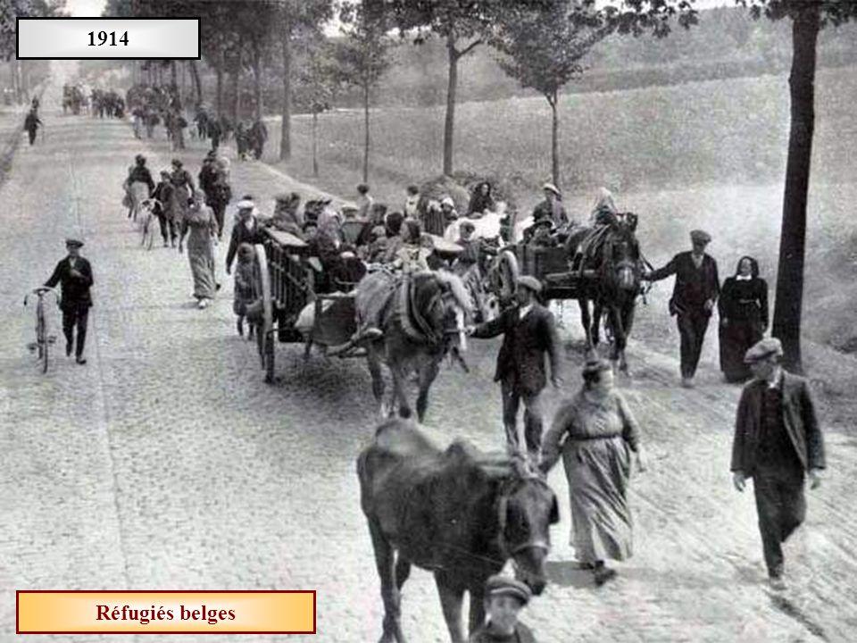 1914 Réfugiés belges