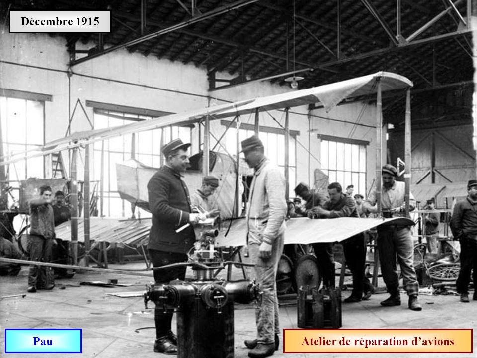 Atelier de réparation d'avions