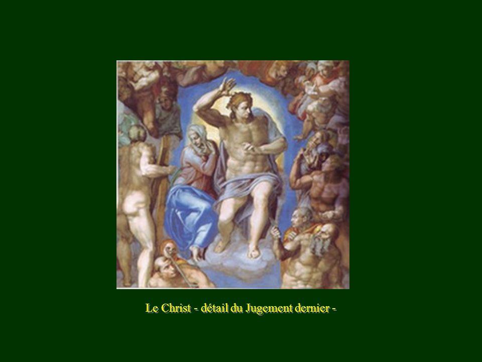 Le Christ - détail du Jugement dernier -