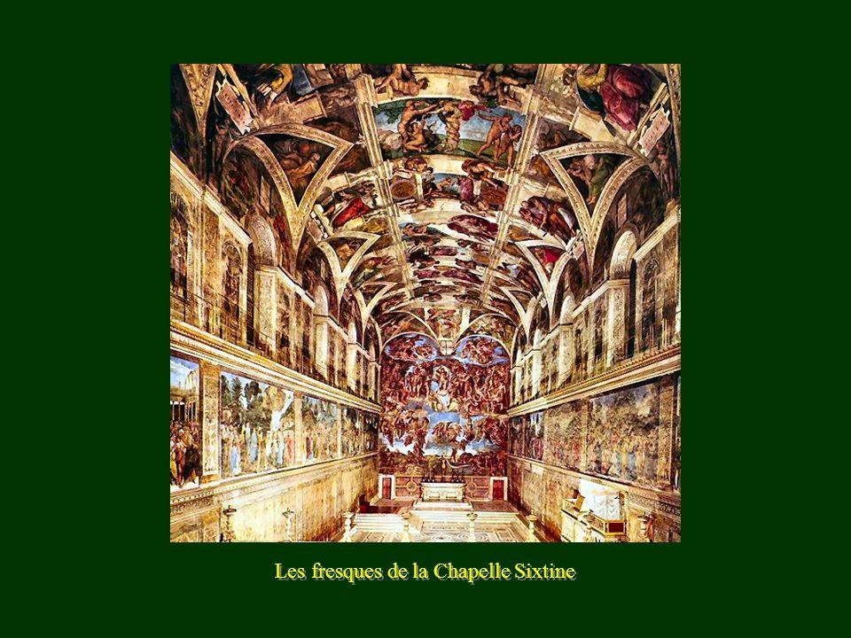 Les fresques de la Chapelle Sixtine