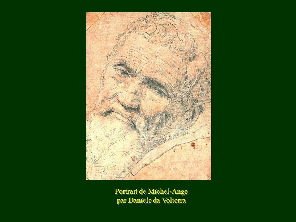 Portrait de Michel-Ange par Daniele da Volterra