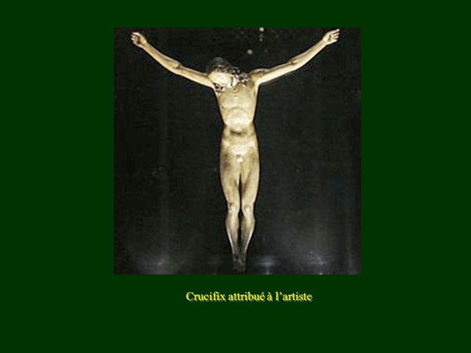 Crucifix attribué à l'artiste
