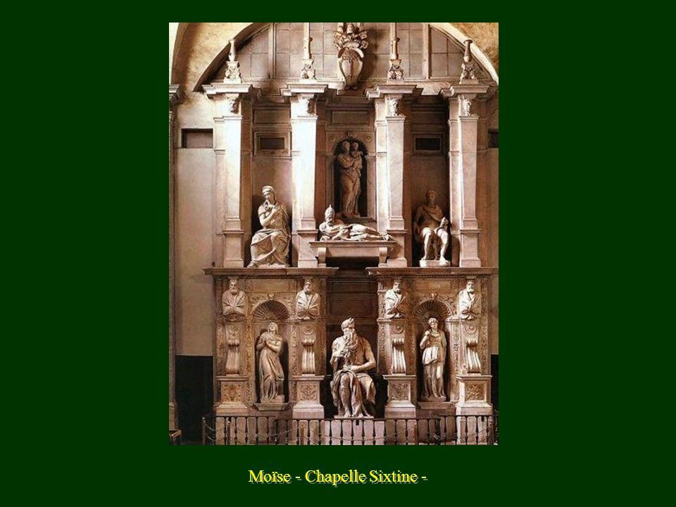 Moïse - Chapelle Sixtine -