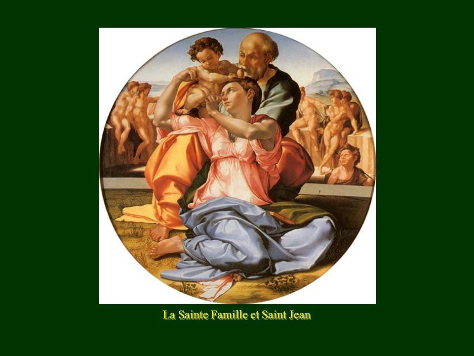 La Sainte Famille et Saint Jean