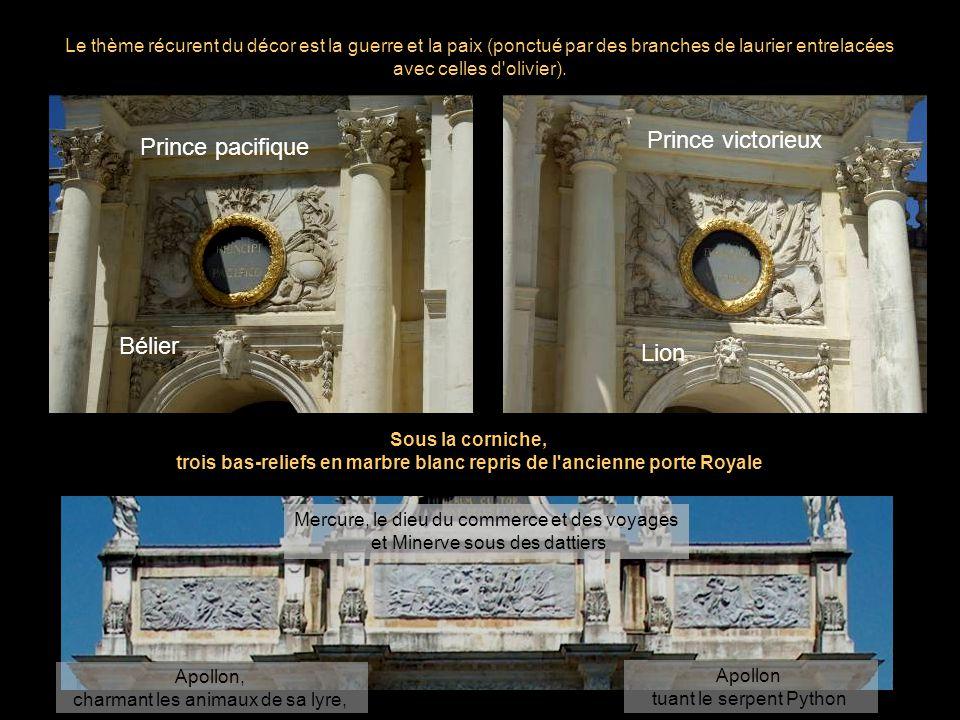 Prince victorieux Prince pacifique Bélier Lion