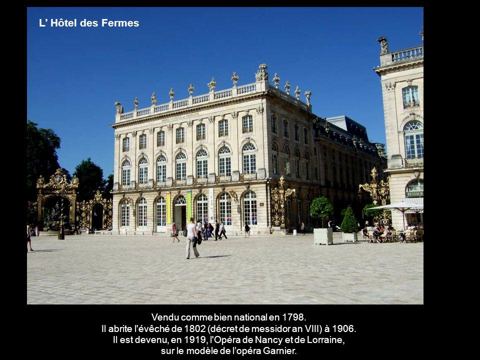 sur le modèle de l'opéra Garnier.