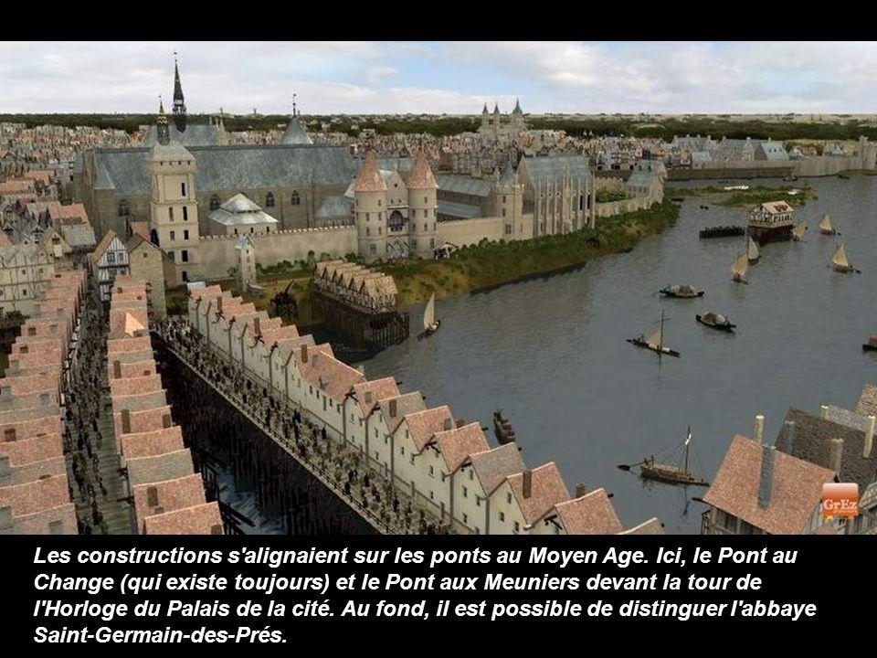 Les constructions s alignaient sur les ponts au Moyen Age