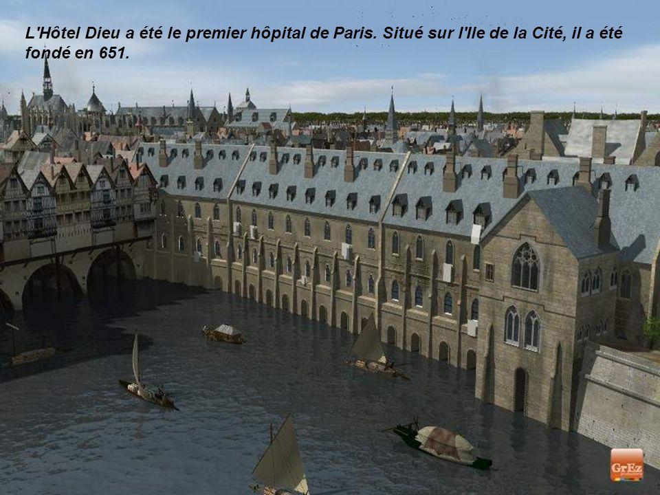 L Hôtel Dieu a été le premier hôpital de Paris
