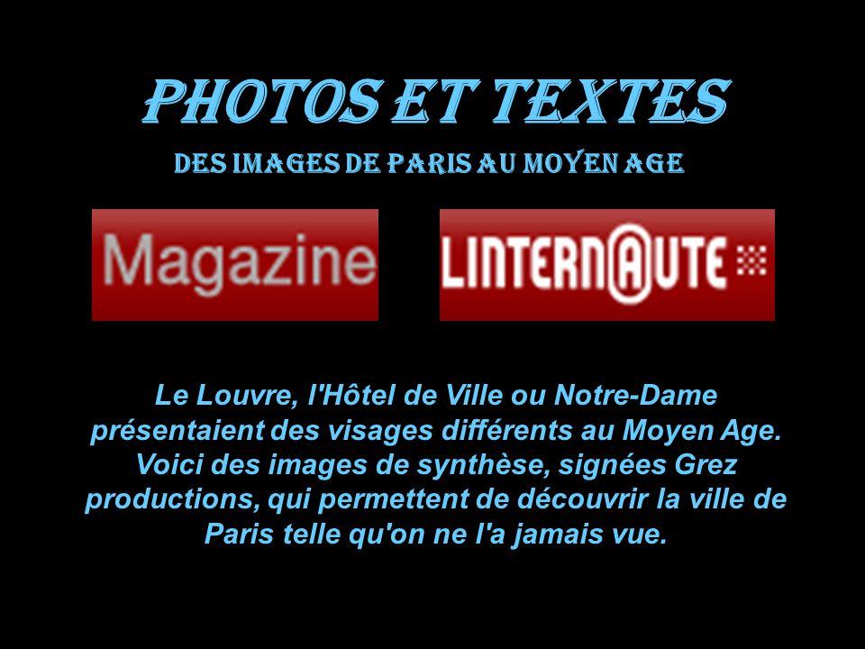 Des images de Paris au Moyen Age
