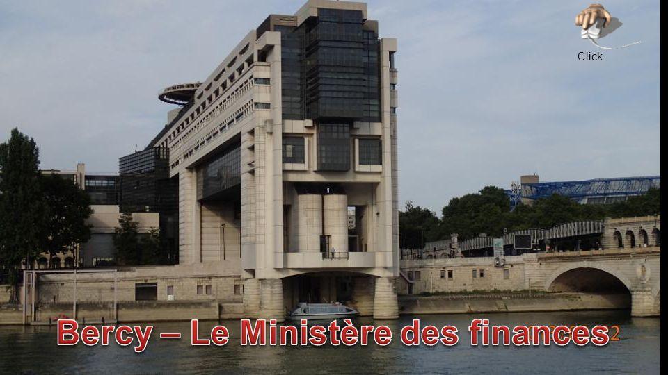 Bercy – Le Ministère des finances