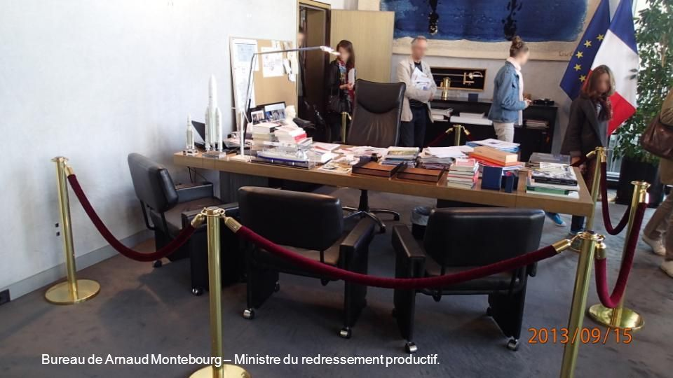 Bureau de Arnaud Montebourg – Ministre du redressement productif.